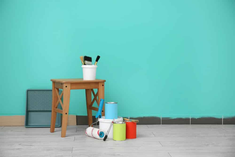 Decorator's,Tools,Near,Color,Wall